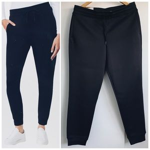 Jersey Satin Black Joggers New With Tag